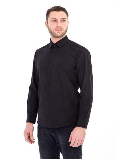Kiğılı Gömlek Siyah
